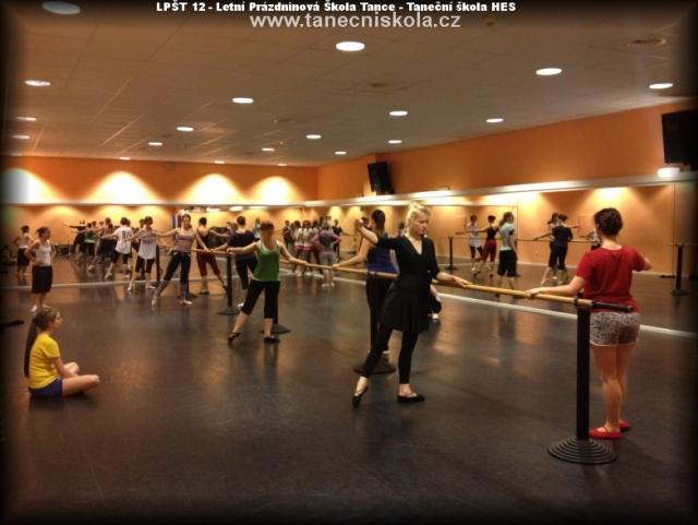 Seznamka baletní tanečnice